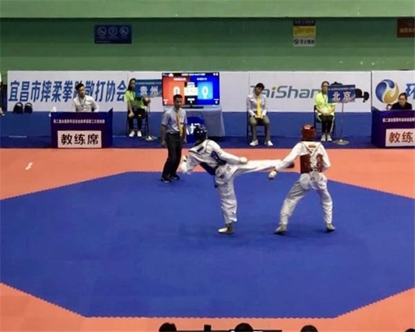 《第二届全国青年运动会跆拳道项目第二站预赛在湖北落幕》