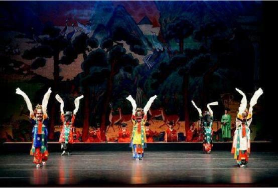 中韩文化交流之韩国传统歌舞乐公益展演