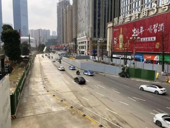 贵阳花果园中山南路金融街路段交通组织有调整 汽车 第1张