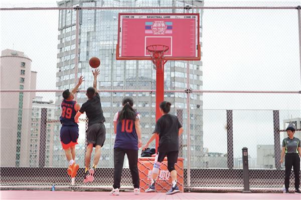 喷水池国贸广场《就爱和你一起嘎》城市情侣篮球赛开赛啦 旅游 第2张