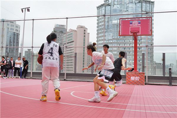 喷水池国贸广场《就爱和你一起嘎》城市情侣篮球赛开赛啦 旅游 第5张