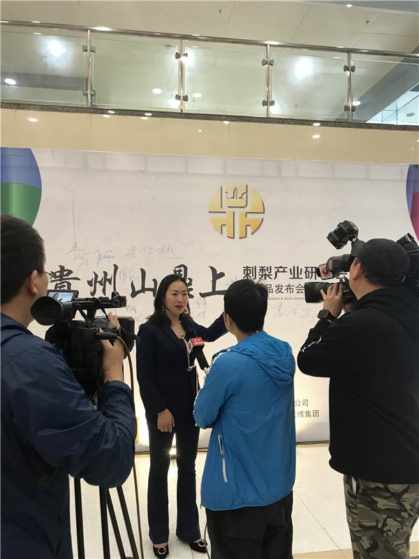 贵州刺梨产业研讨会暨贵州山鼎上新品发布会在贵阳举行 社会 第3张