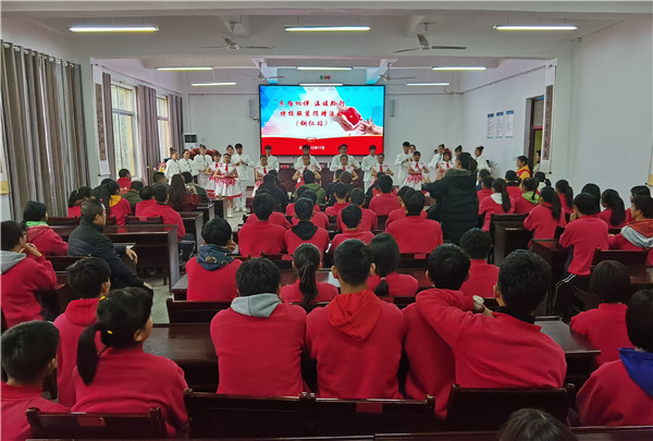 贵州省福慧缘慈善协会为铜仁市特教学校捐赠798套校服这些孩子这个冬天挺温暖 公益 第1张