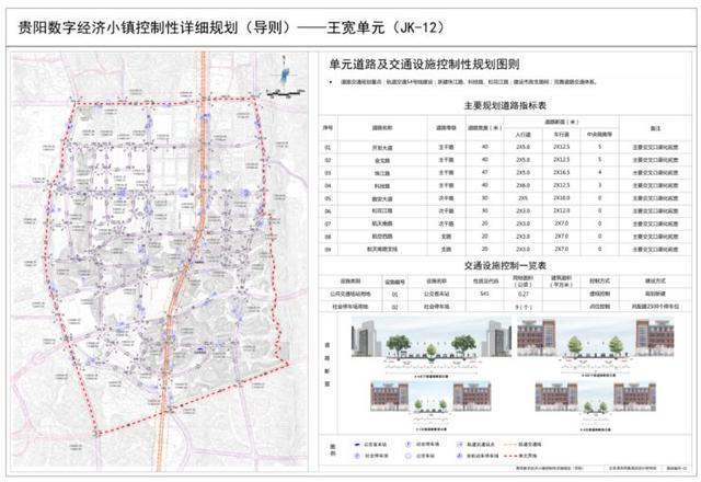 贵阳数字经济小镇控规亮相!S4号线、BRT贯穿其中 汽车 第3张