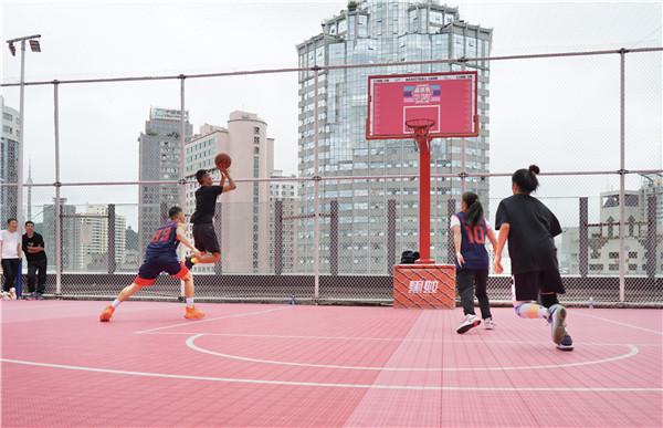 喷水池国贸广场《就爱和你一起嘎》城市情侣篮球赛开赛啦 旅游 第1张