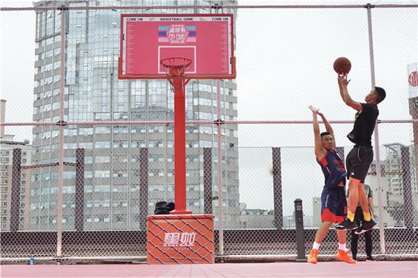 喷水池国贸广场《就爱和你一起嘎》城市情侣篮球赛开赛啦 旅游 第3张