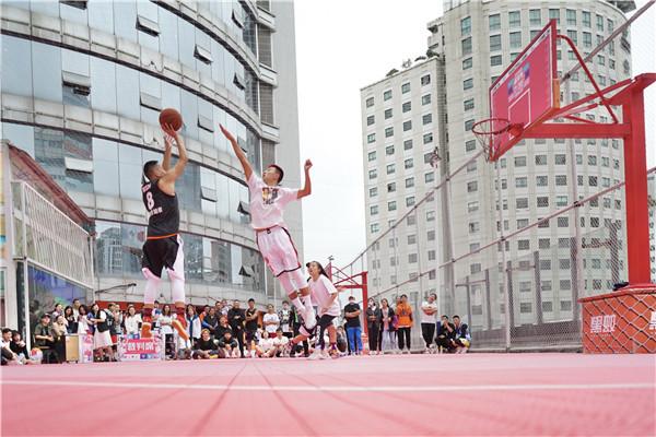 喷水池国贸广场《就爱和你一起嘎》城市情侣篮球赛开赛啦 旅游 第4张