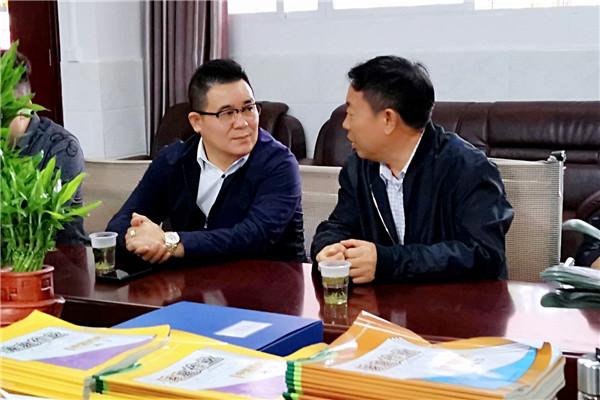 中科辉创集团刘立辉董事长到贵阳市花溪品华中学调研 社会 第2张